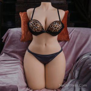 Monroe: Big Butt Sex Doll Torso Thick Lifelike BBW Sex Doll Affordable Huge Tit Sex Doll (30.5KG)